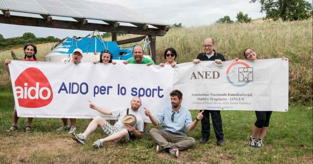 il gruppo ringrazia AIDO e ANED!!